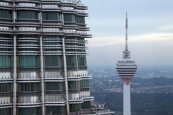 Petronas Twin Towers observation deck 2