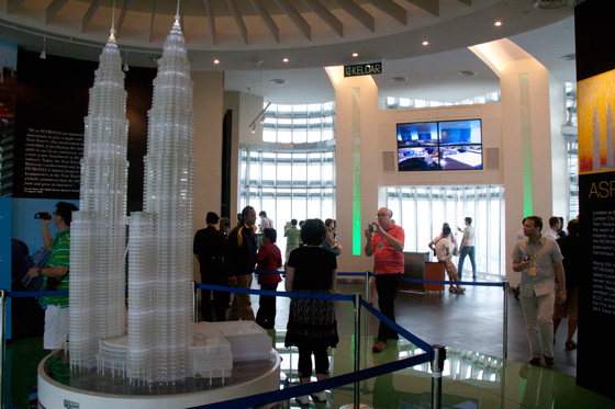 Petronas Twin Towers observation deck 3
