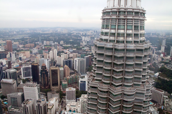 Petronas Twin Towers observation deck 4