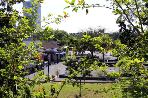Plaza Tugu Negara overview