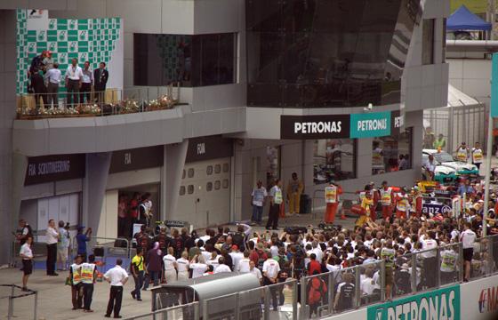 formula1 grand prix malaysia ceremony 2