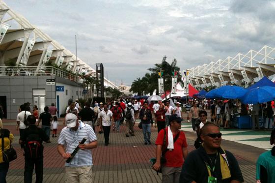 formula1 grand prix malaysia main grandstand