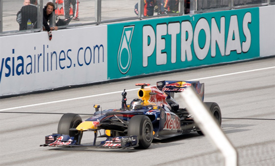 formula1 grand prix malaysia vettel won