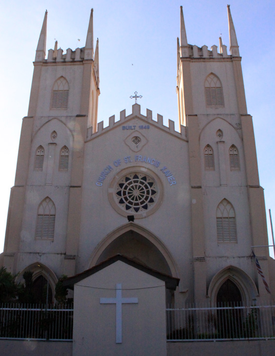 malacca things to do francis xavier church