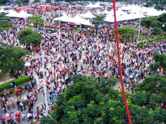 Putrajaya International Hot Air Balloon fiesta 1