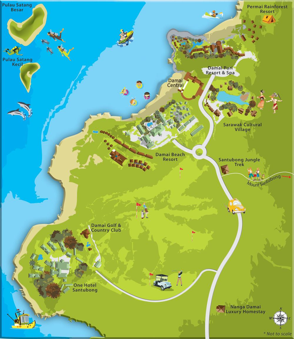 Sarawak Cultural Village Attractions Wonderful Malaysia