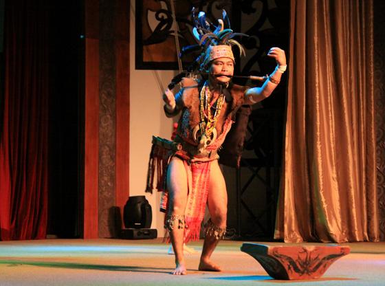 sarawak cultural village dance performance 2