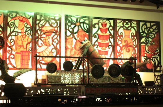 sarawak cultural village dance performance 9