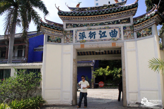 Cheong Fatt Tze Mansion (Blue Mansion) in Georgetown, Penang 1