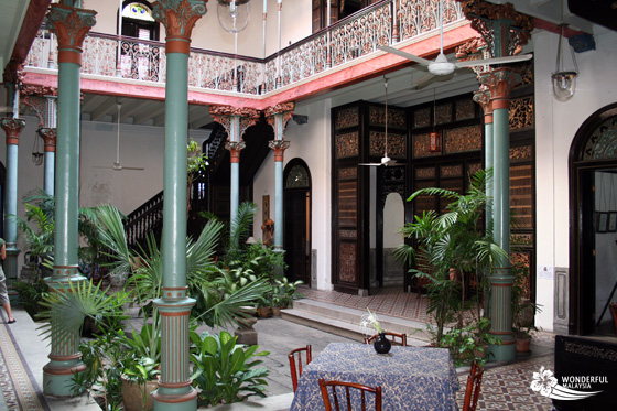 Cheong Fatt Tze Mansion (Blue Mansion) in Georgetown, Penang 12
