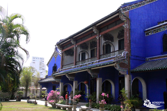 Cheong Fatt Tze Mansion (Blue Mansion) in Georgetown, Penang 2