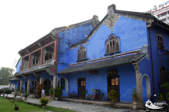 Cheong Fatt Tze Mansion (Blue Mansion) in Georgetown, Penang 3