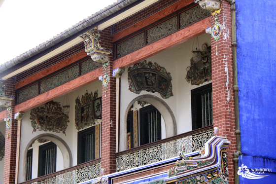 Cheong Fatt Tze Mansion (Blue Mansion) in Georgetown, Penang 4