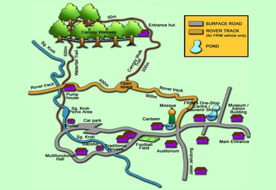 map frim canopy walkway