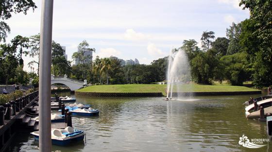fountain lake gardens