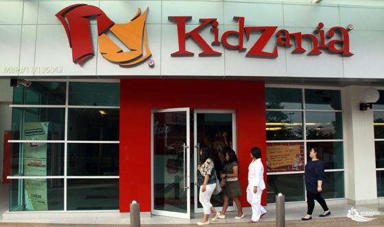kidzania malaysia entrance