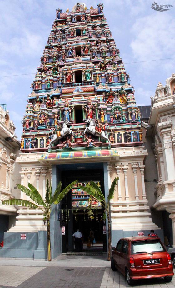 sri mahamariamman temple kuala lumpur 1