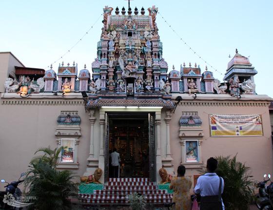 Sri Mahamariamman Temple in Georgetown, Penang 1