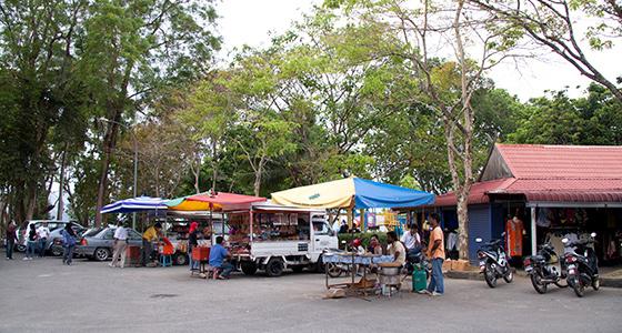 black-sand-beach-langkawi-shops-1