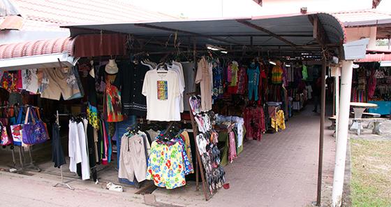black-sand-beach-langkawi-shops-2