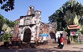 Porta de Santiago (A' Famosa Fort)