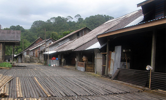 A Bidayuh Life In The Annah Rais Longhouse Attractions Attractions Wonderful Malaysia