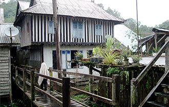 A Bidayuh Life in the Annah Rais Longhouse