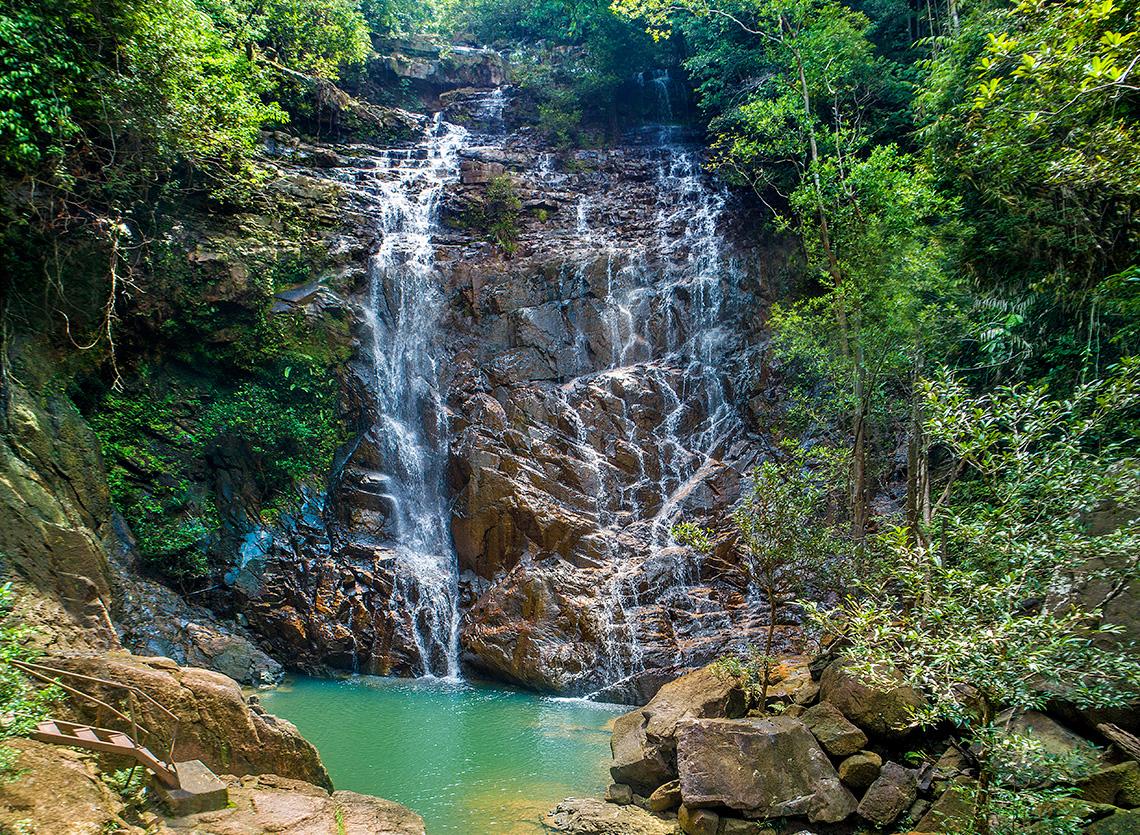 Rompin State Park Seri Mahkota Waterfall