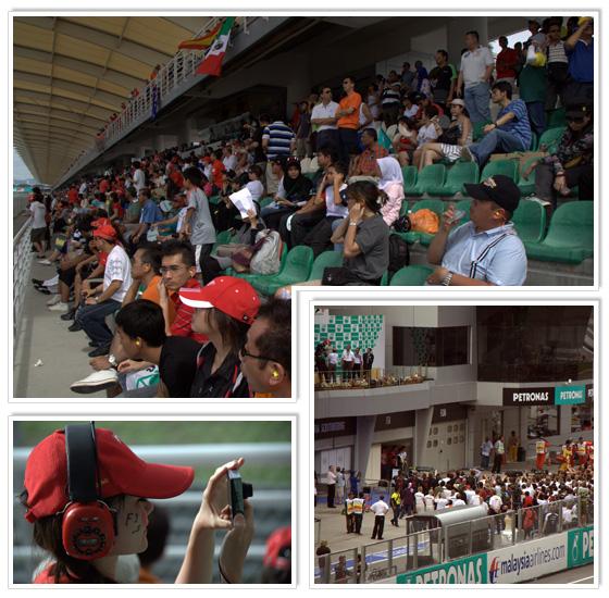 Formula 1 race at Sepang circuit in Malaysia