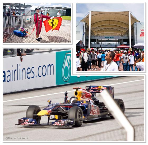 Formula 1 race at Sepang circuit in Malaysia 2