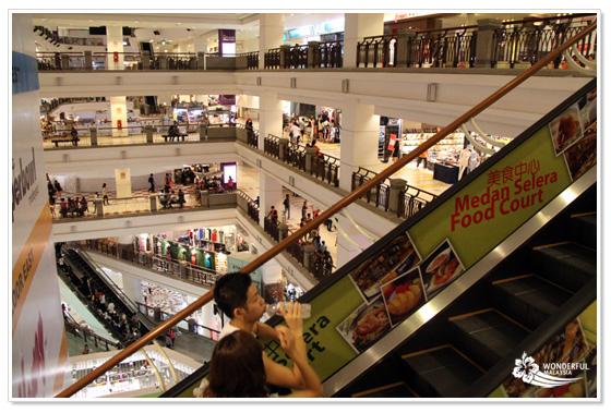 Berjaya Times Square shopping mall Kuala Lumpur