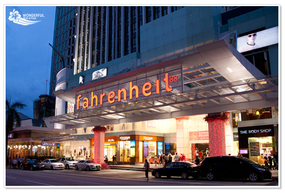 Fahrenheit88 shopping mall Kuala Lumpur