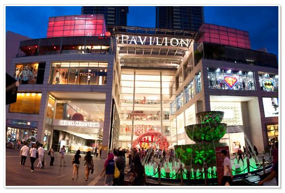 pavilion kl shopping mall kuala lumpur Kuala Lumpur Shopping Mall