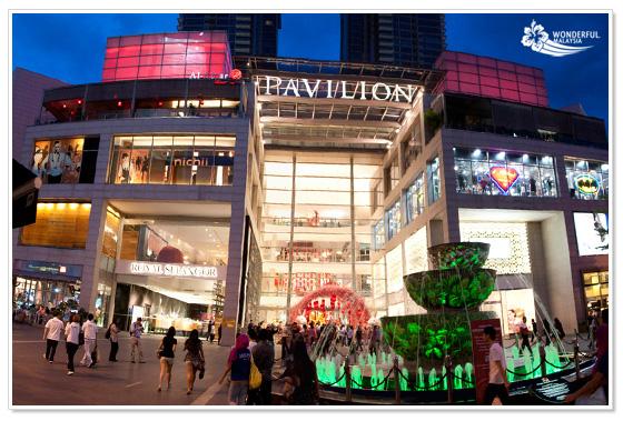 Pavilion KL shopping mall Kuala Lumpur
