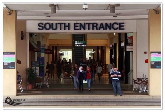 The Curve shopping mall Kuala Lumpur