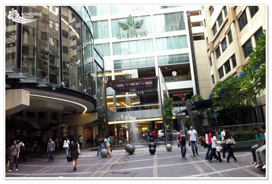 The Gardens shopping mall Kuala Lumpur