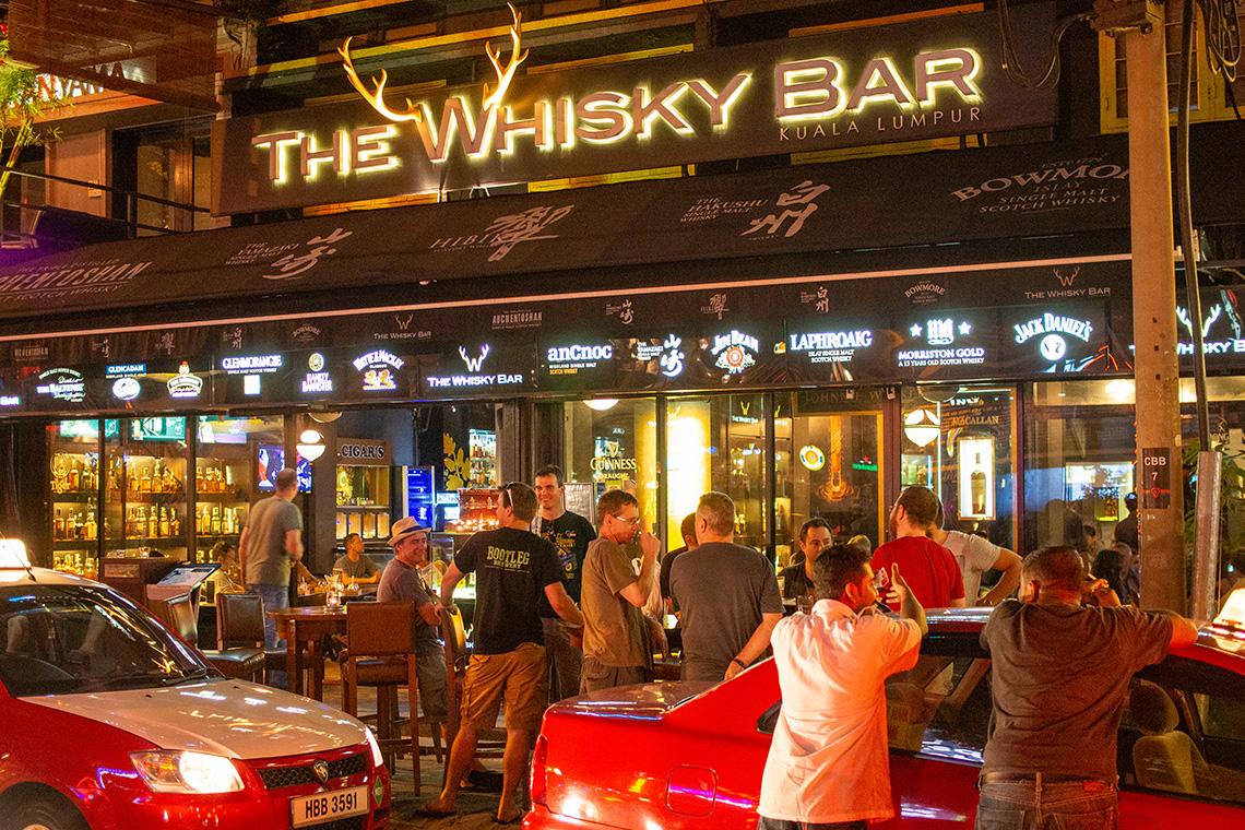 Whisky Bar in Kuala Lumpur