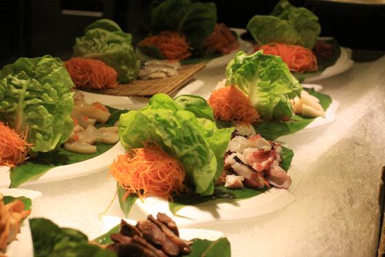 Jogoya Japanese Buffet Restaurant fresh sashimi