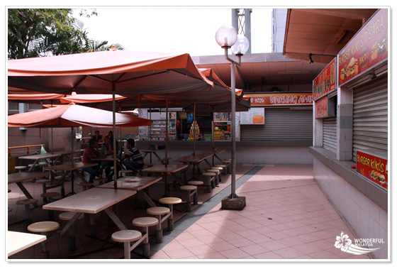 Food Court Kuala Lumpur Damansara Uptown