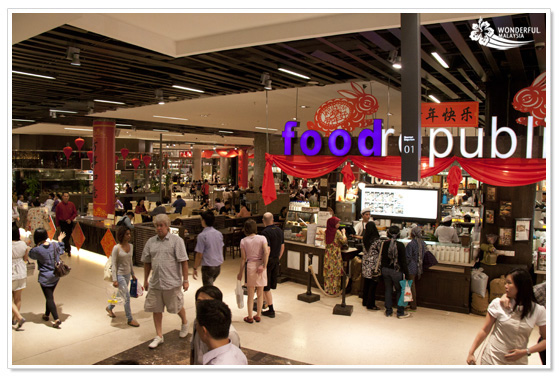 Food Court Kuala Lumpur Foodrepublic Pavilion KL