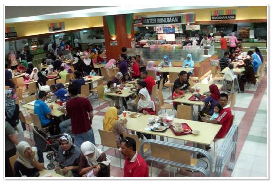 Food Court Kuala Lumpur Jusco Arena