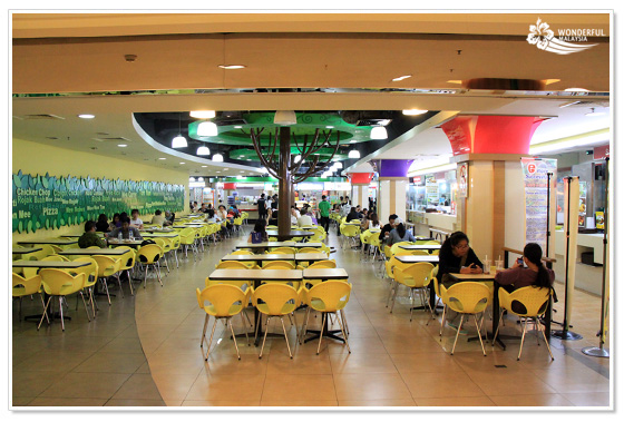 Food Court Kuala Lumpur Oasis Mid Valley