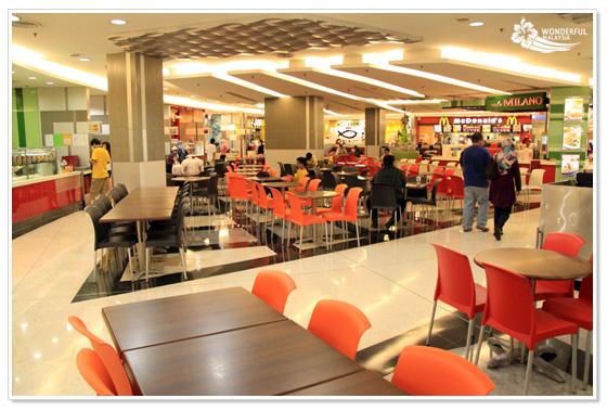 Food Court Kuala Lumpur Signatures Suria KLCC
