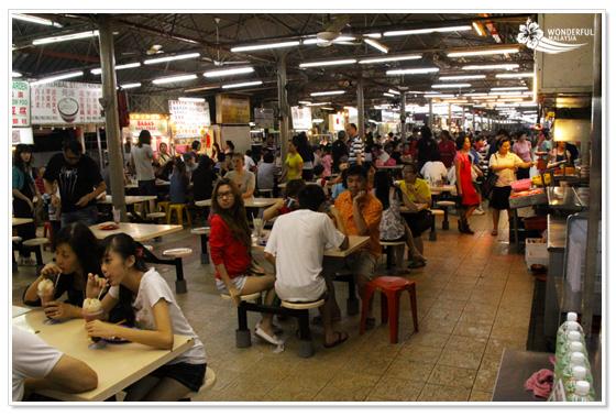 Food Court Kuala Lumpur SS2 Selera Malam