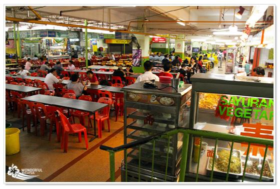 Food Court Kuala Lumpur Sungei Wang