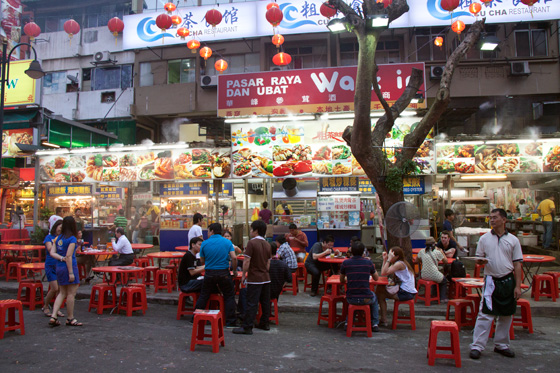 Jalan Alor Food Street in Kuala Lumpur 11