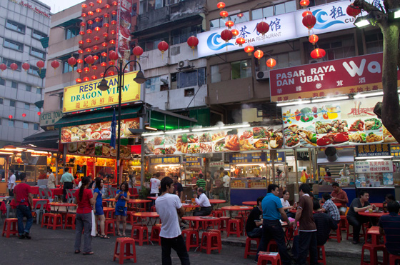Jalan Alor Food Street in Kuala Lumpur 12