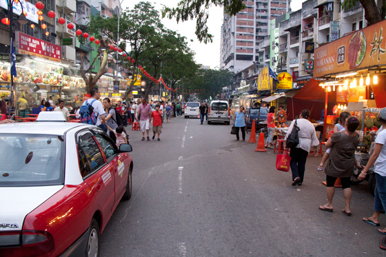 Jalan Alor Food Street in Kuala Lumpur 3