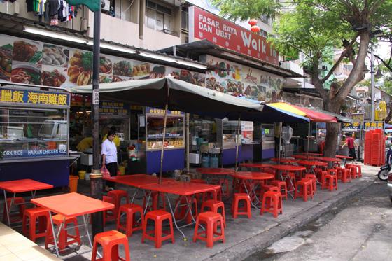 Jalan Alor Food Street in Kuala Lumpur 4