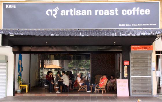 artisan roast coffee place ttdi 1
